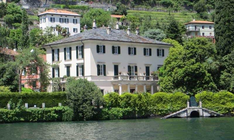 Lake Como Clooney